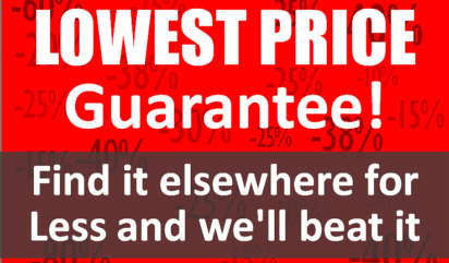 Lowest price guarantee banner