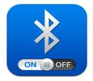 Bluetooth on off button